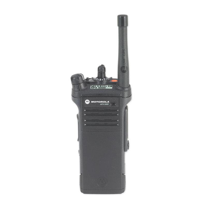 Motorola Solutions - APX<sup>TM</sup> 6000 Single-Band P25 Portable Radio UHF Range 1 Model 1.5