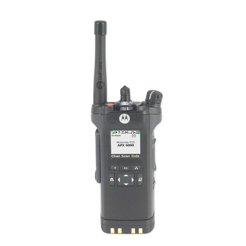 Motorola Solutions - APX<sup>TM</sup> 6000 Single-Band P25 Portable Radio UHF Range 1 Model 2.5