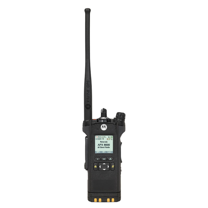 Motorola Solutions - APX 8000 All-Band P25 Portable Radio Model 2.5