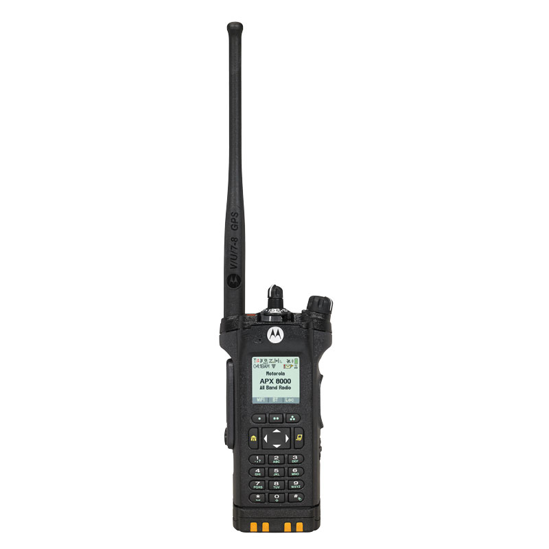 Motorola Solutions - APX 8000 All-Band P25 Portable Radio Model 3.5