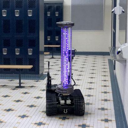 QinetiQ -  TALON Tactical Disinfecting Robot (TDR)