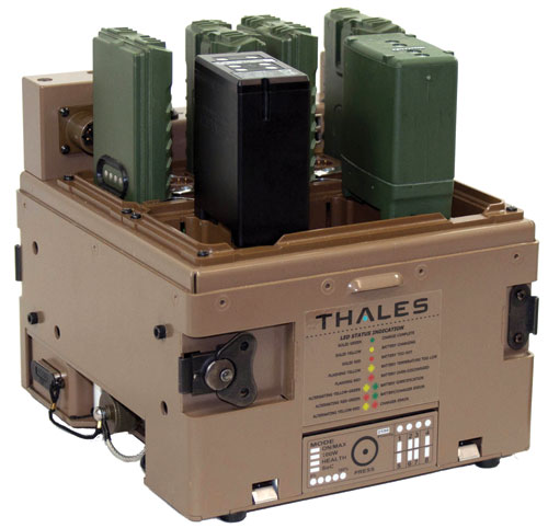Thales - Modular Universal Battery Charger