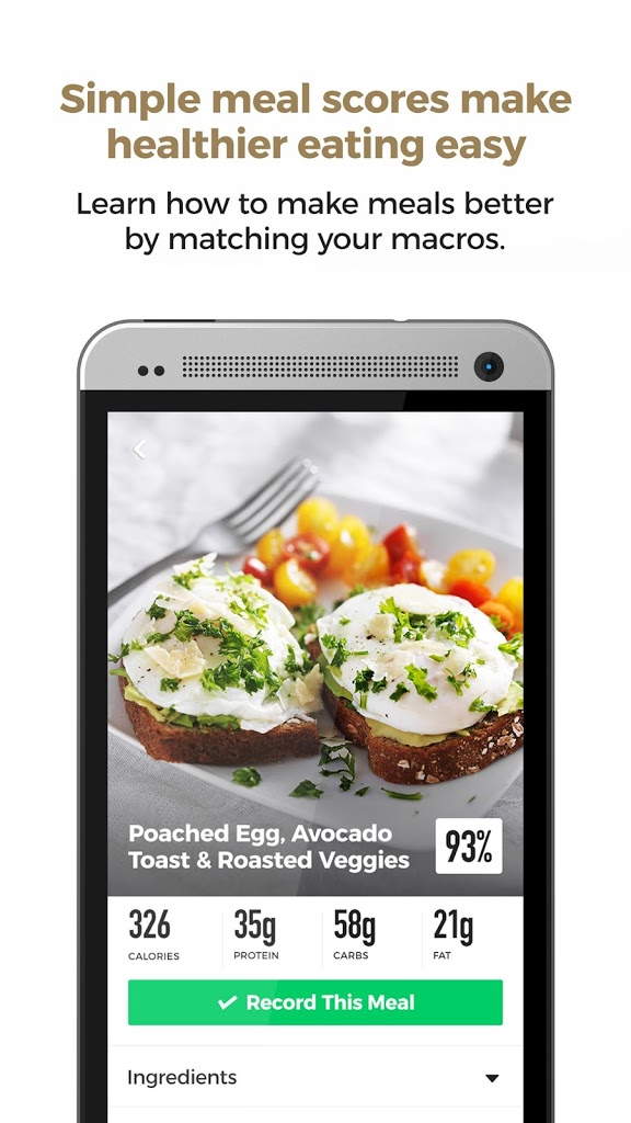 ACTIV - Meal Tracker for Android - APK Download