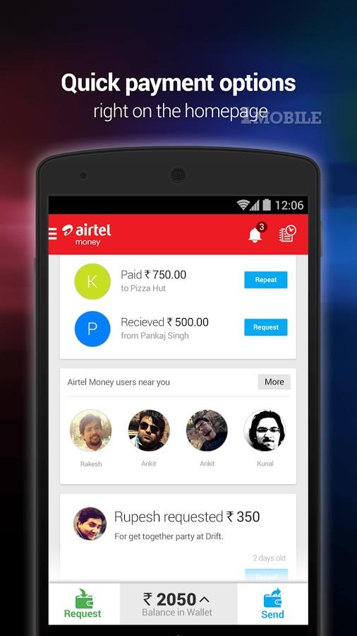 Airtel Money - Recharge & Pay for Android - APK Download