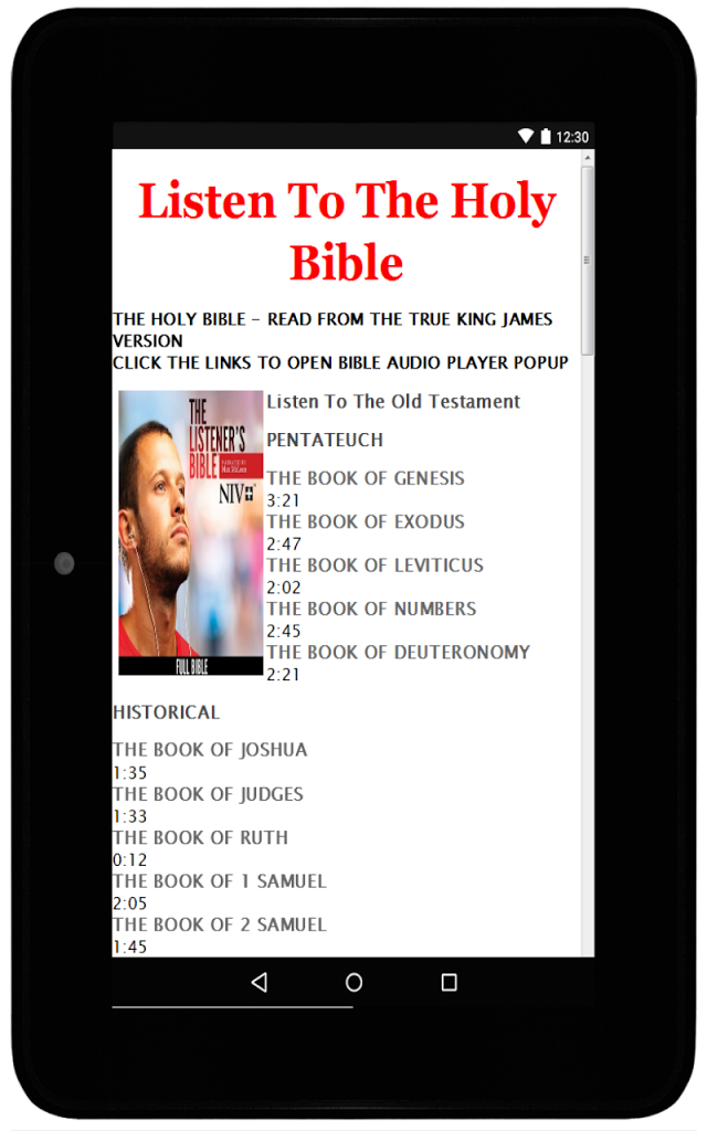 Amplified Bible Offline for Android - APK Download
