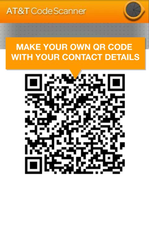 AT&T Code Scanner: QR,UPC & DM