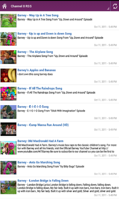 Barney and his Friends TV for Android - APK Download