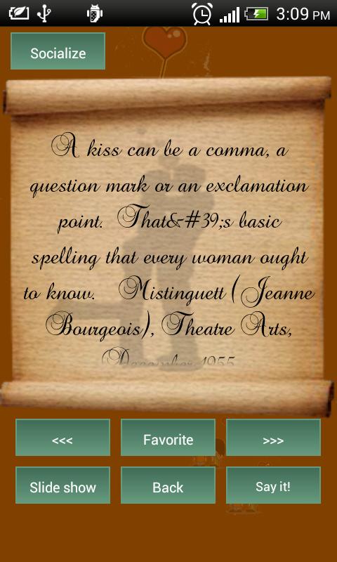 Best Kiss Quotes App