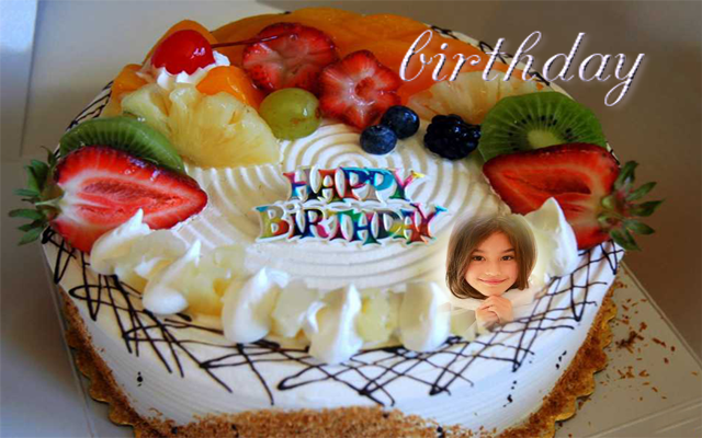 birthday cake photo frame name for Android - APK Download