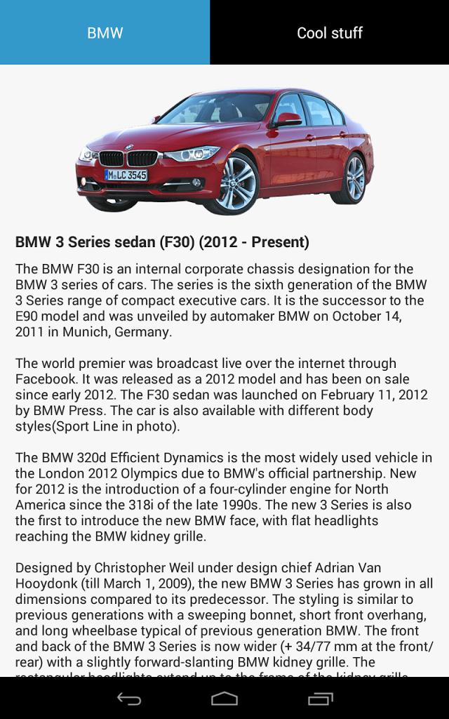 BMW In My Pocket