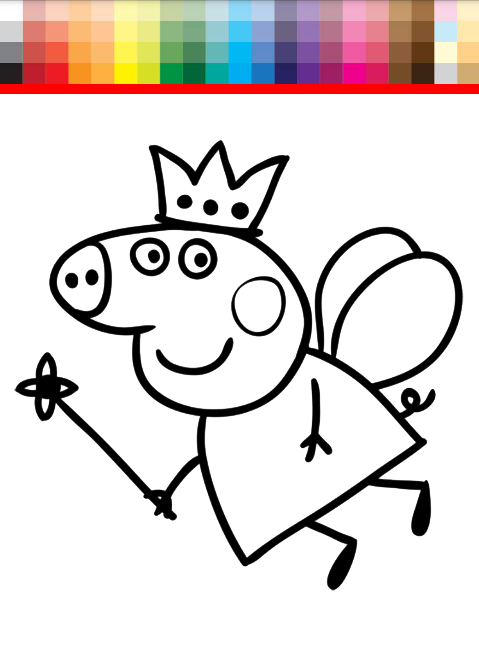 Coloring Book Peppa Pig For Android