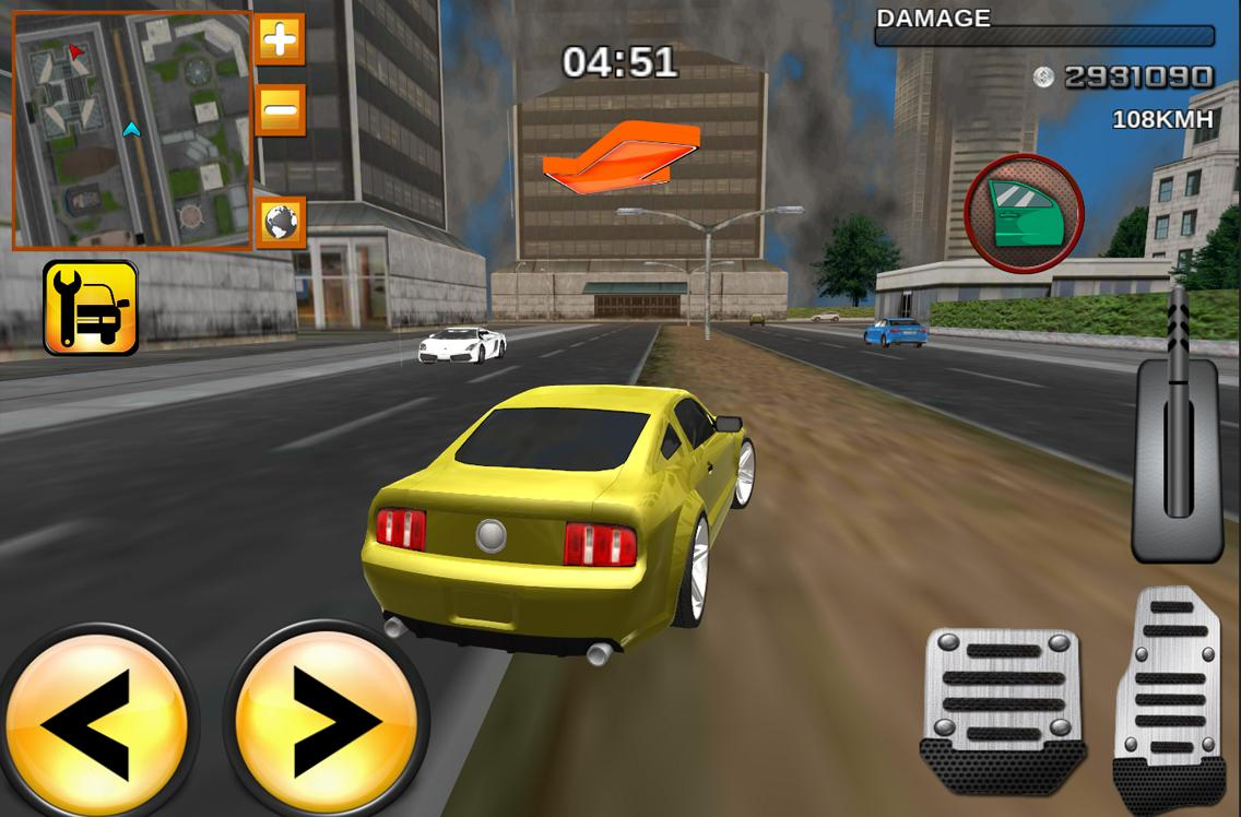 Crime race car drivers 3D for Android - APK Download