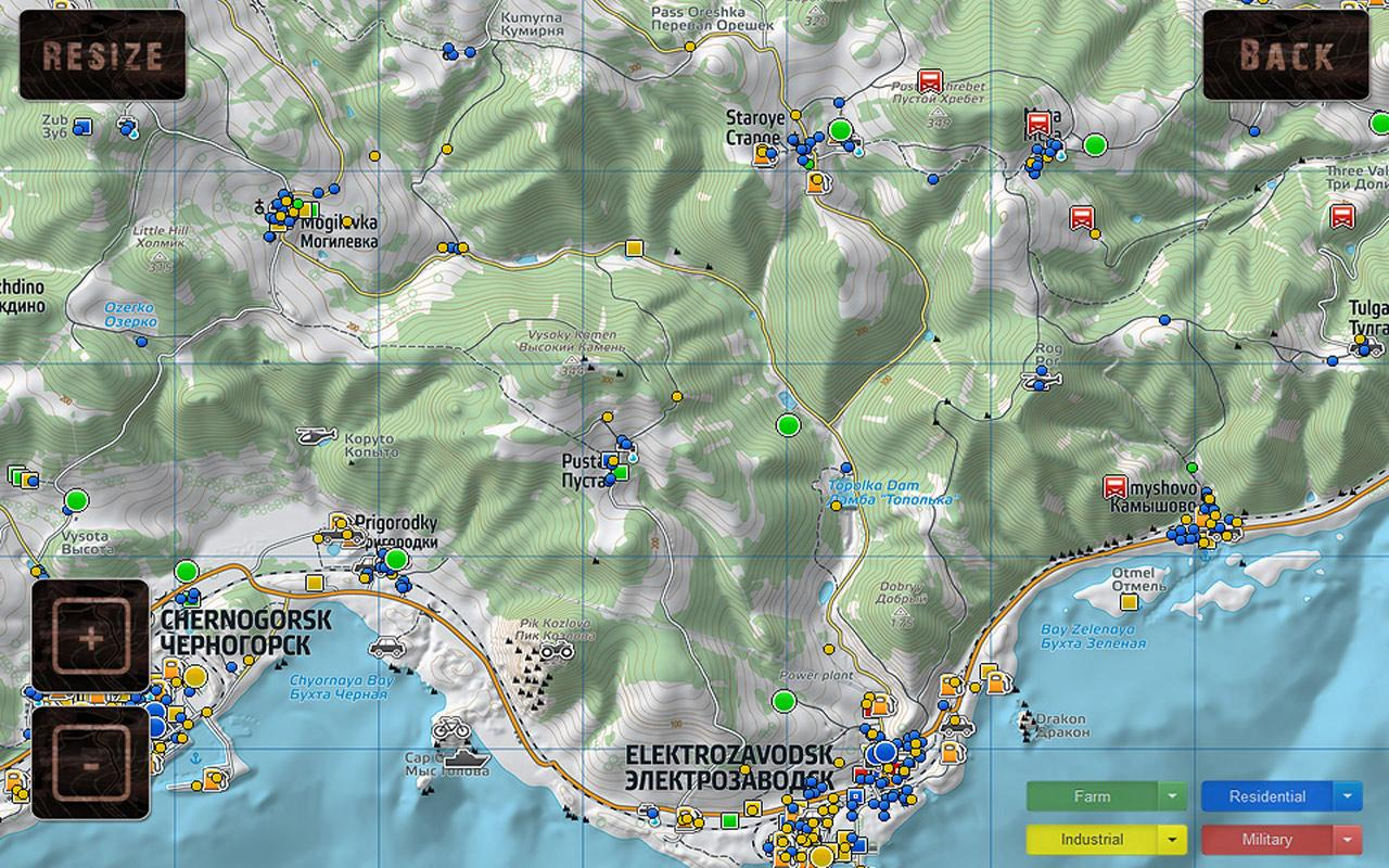 DayZ Offline Map for Android - APK Download on