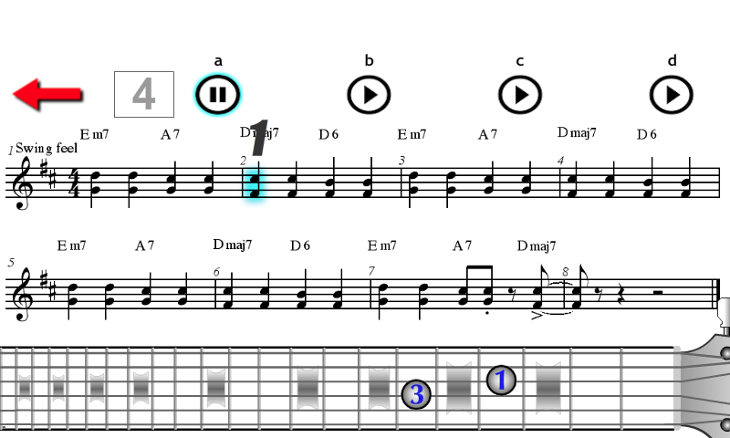 Electric Guitar Jazz - Basic
