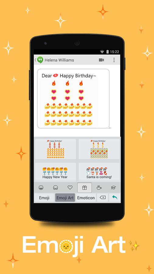 Emoji Keyboard - Color Smiley+ for Android - APK Download
