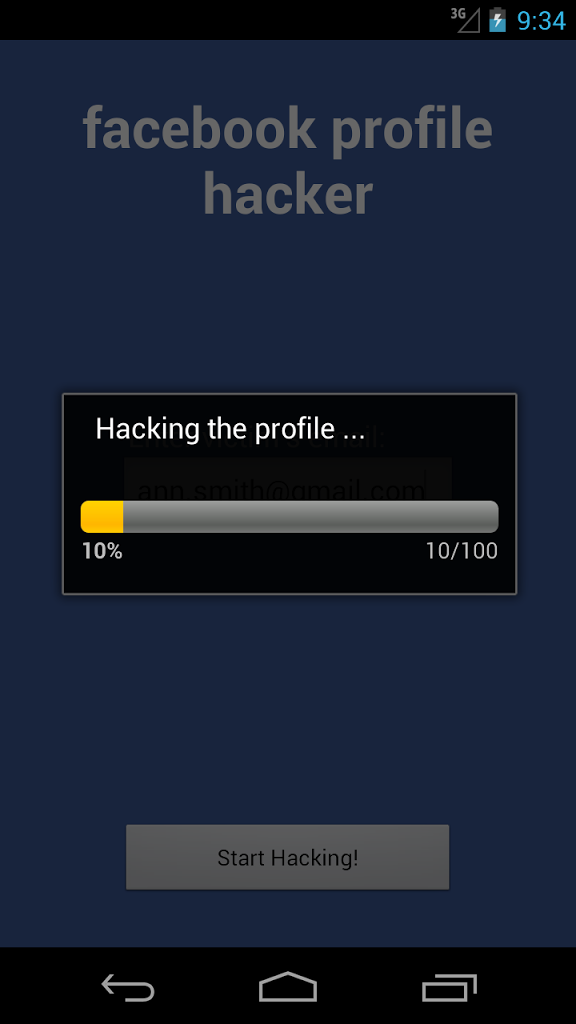 Facebook Account Hacker for Android - APK Download