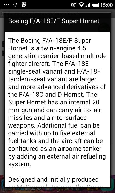 Fighter Aircraft Handbook