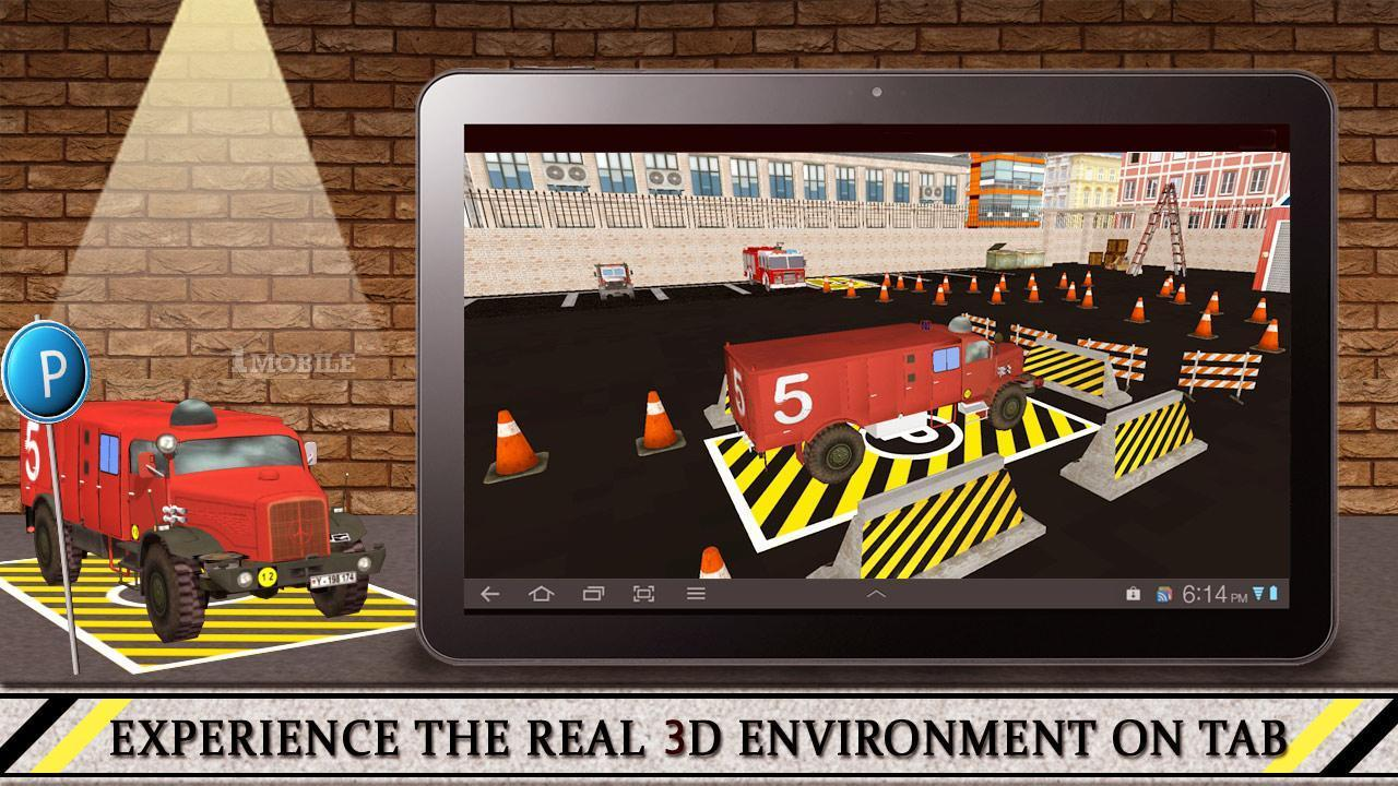 Firefighter Truck 3D for Android - APK Download