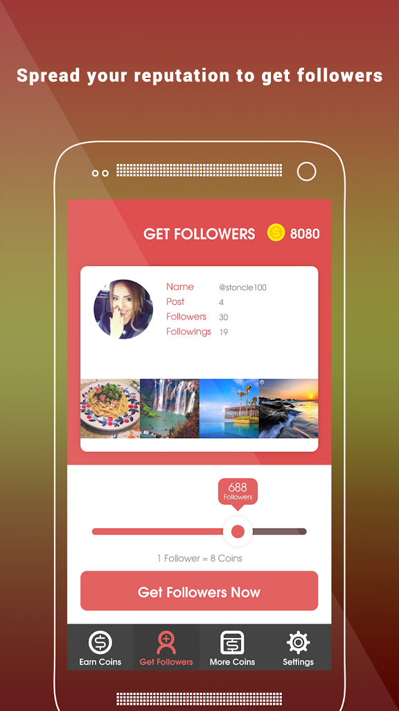 Follow4Follow Get Followers IG for Android - APK Download