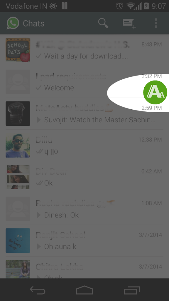 Fontify Whatsapp for Android - APK Download