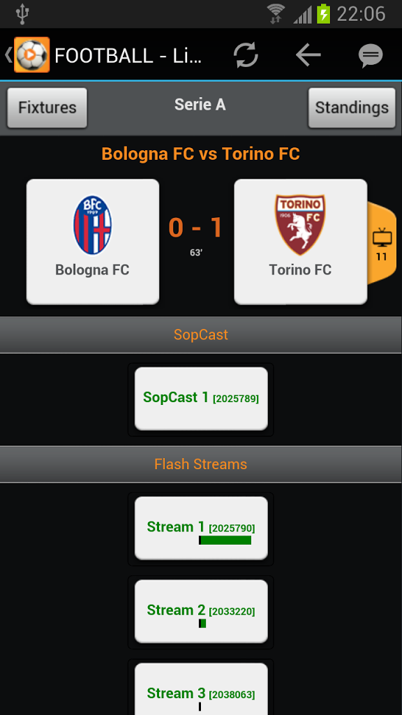 Football Stream (live) for Android - APK Download