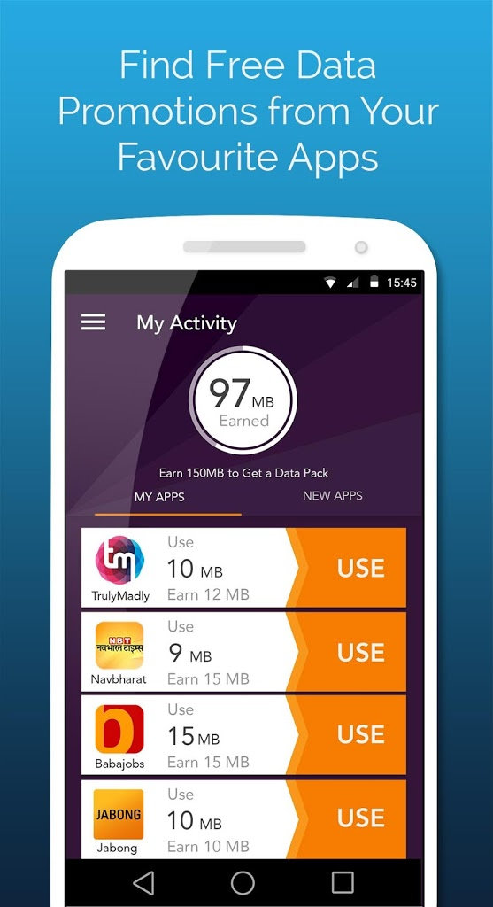 Gigato: Free Data Recharge for Android - APK Download