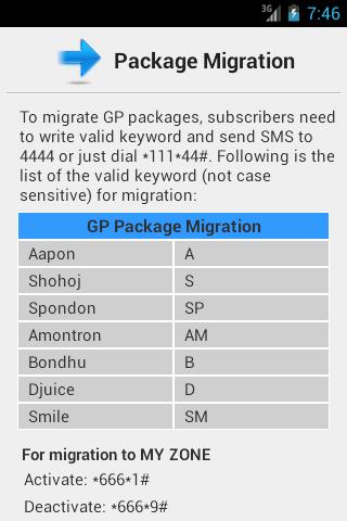 GP Info 3G