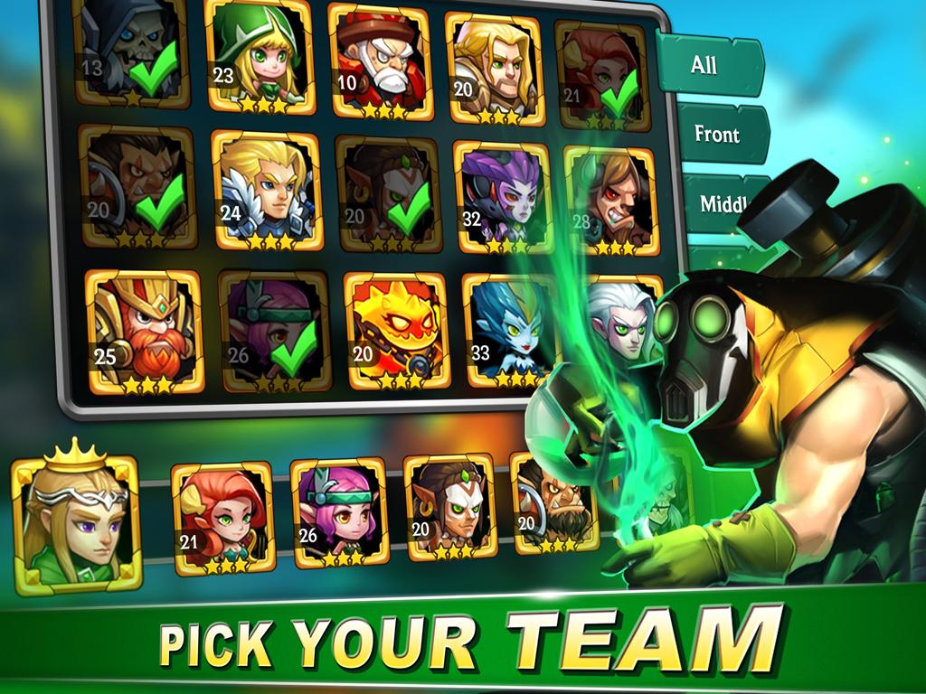 Heroes League: War of Legends for Android - APK Download