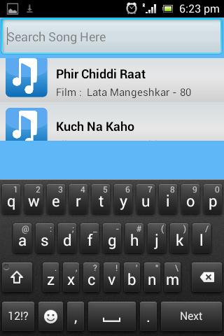 Hindi Bollywood Songs