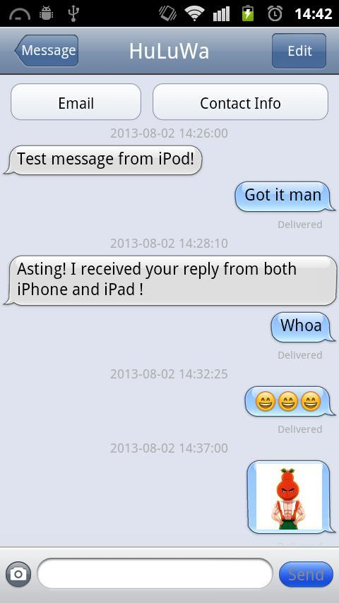 iMessage Chat for Android - APK Download