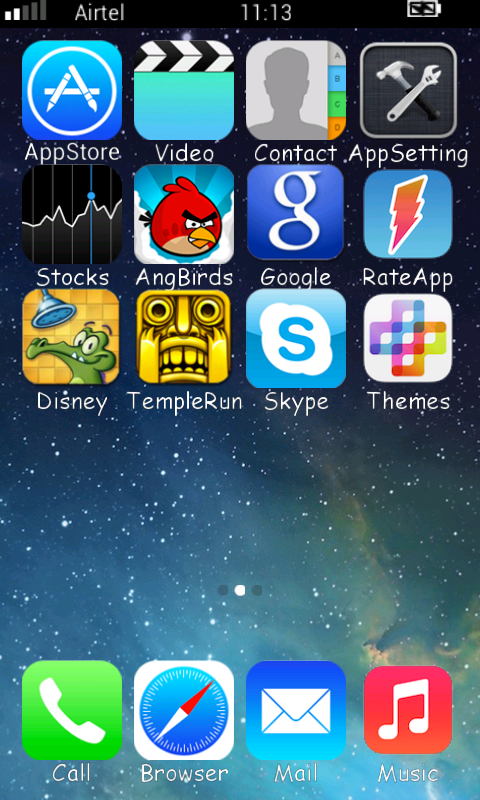 iOS 7 Launcher Theme for Android - APK Download
