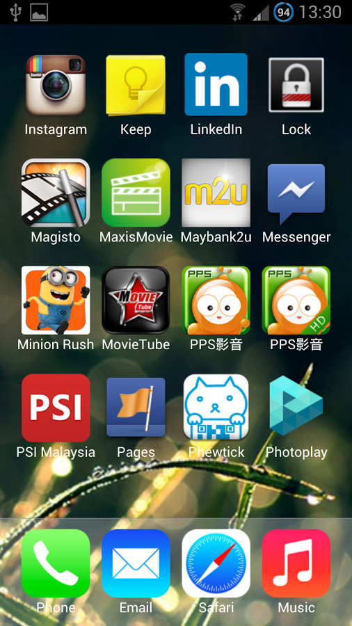 iOS 7 Launcher Theme HD for Android - APK Download