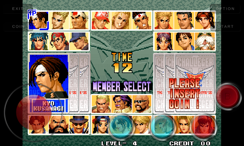 the king of fighters 96 free download
