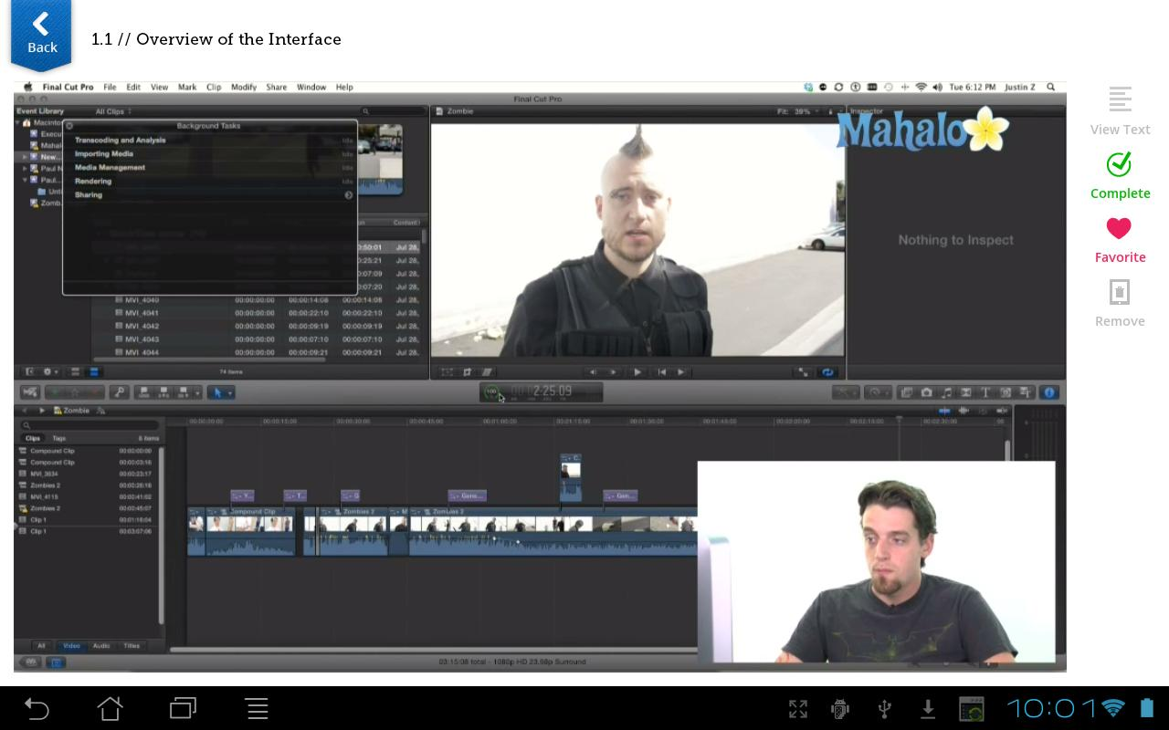 Learn Final Cut Pro X FREE for Android - APK Download