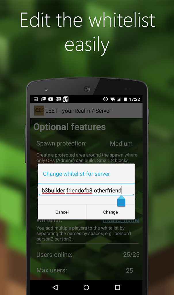 LEET Minecraft Server / Realms for Android - APK Download