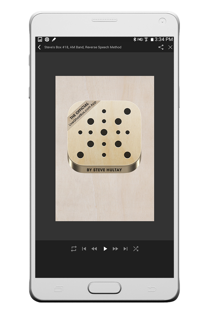 Live Ghost Box by Steve Hultay for Android - APK Download