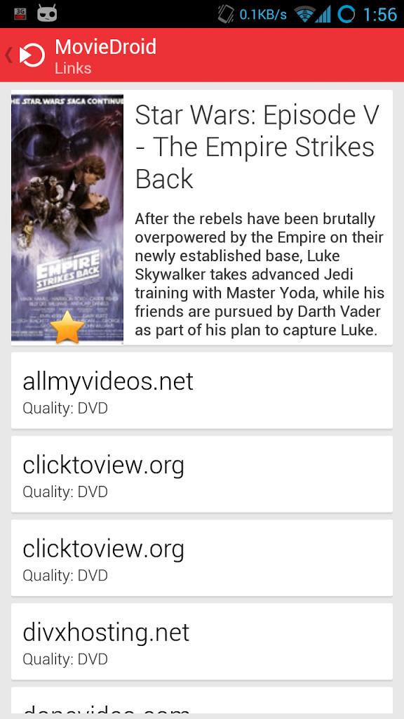 Vader Streams Downloads