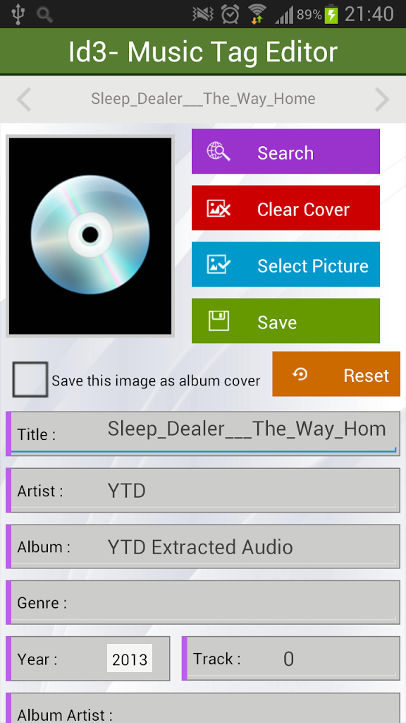 mp3 tag editor apk android