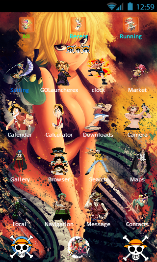One Piece Theme Go Launcher For Android Apk Download