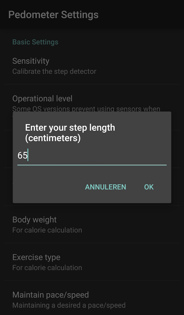 Pedometer - Calorie Counter