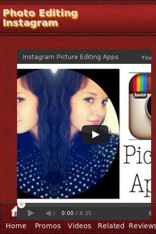 Photo Editing Instagram