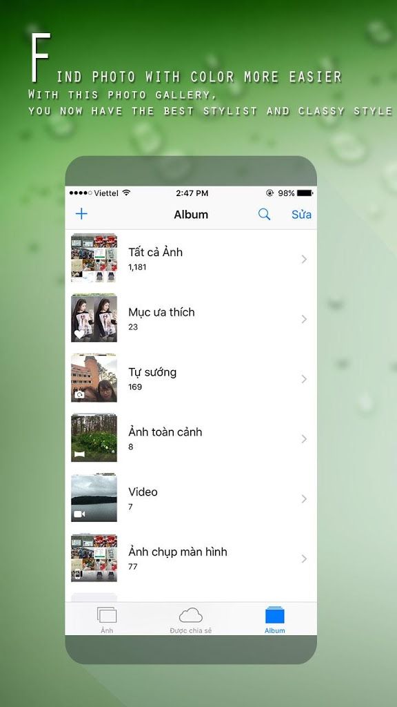 Photo Gallery style of iOS 9 for Android - APK Download