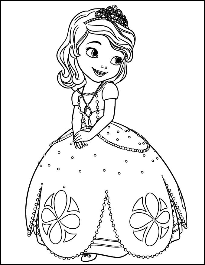- Princess Sofia Coloring Pages For Android - APK Download