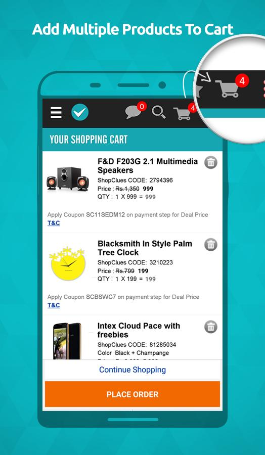 ShopClues: Online Shopping App