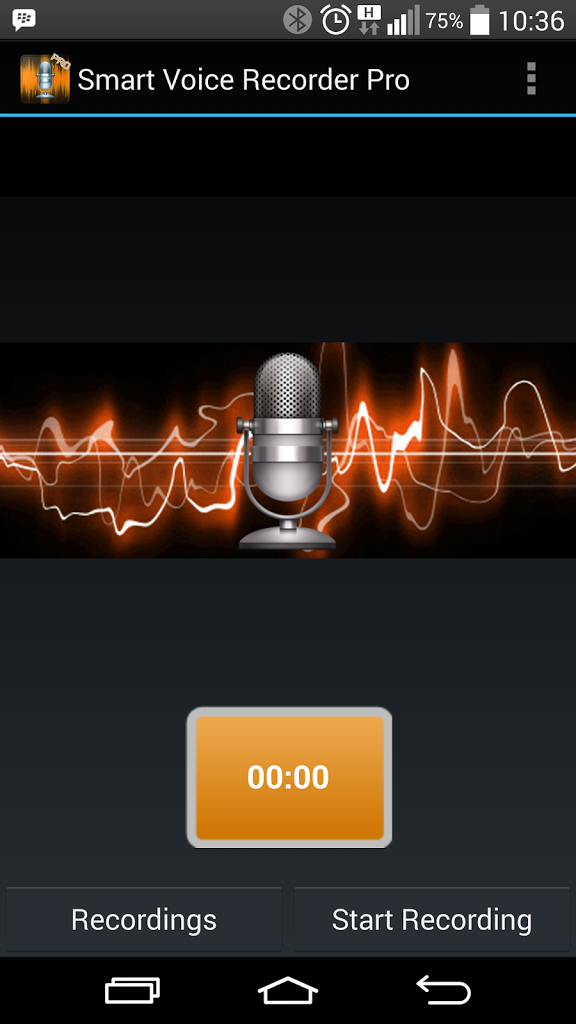 Smart voice recorder PRO for Android - APK Download