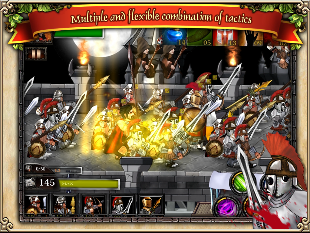 Spartans vs Zombies defense HD