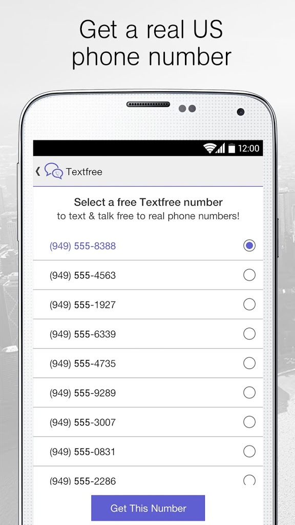 Text Free on Textfree Texting for Android - APK Download