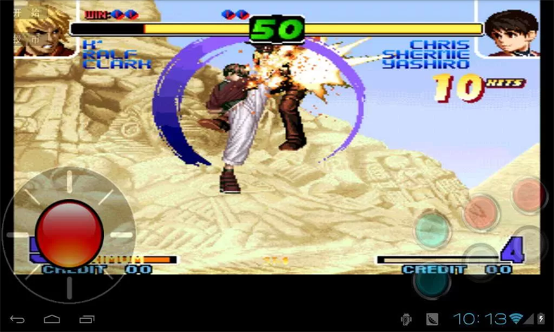 king of fighters 2010 apk download