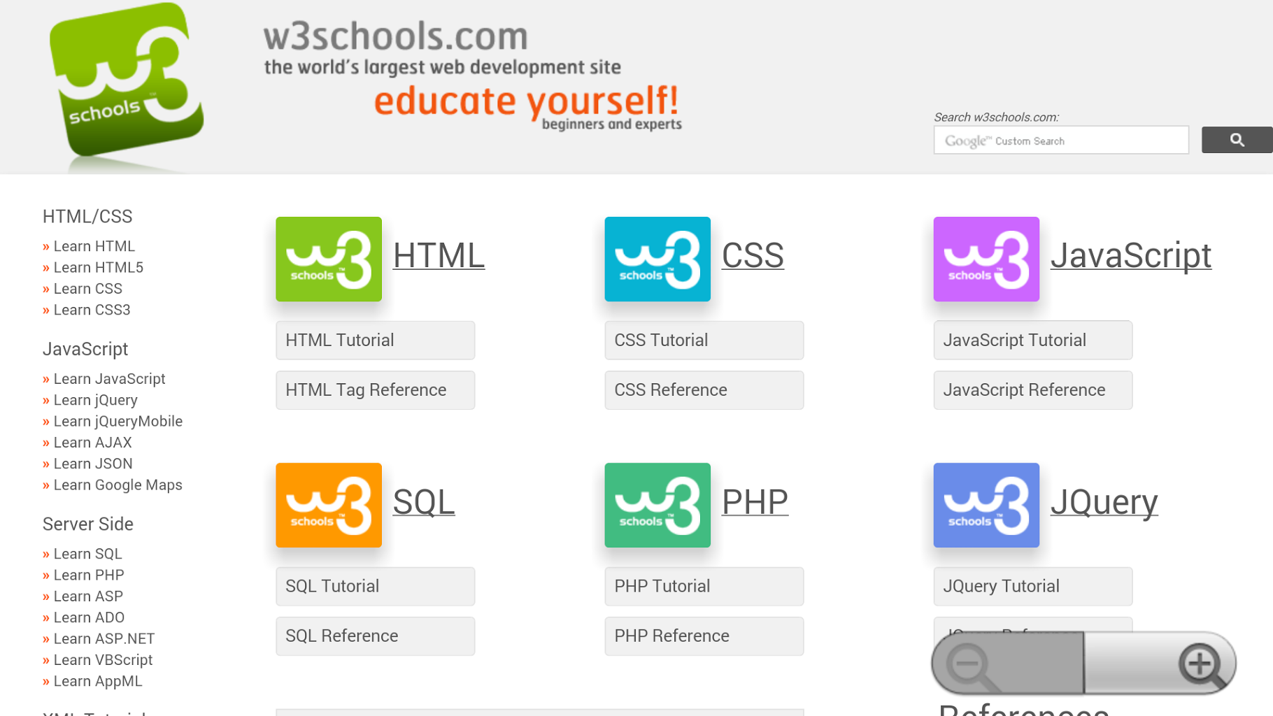 Unofficial W3Schools for Android - APK Download