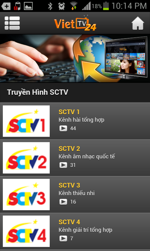 Viet TV24 for Android - APK Download